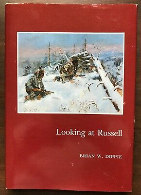 LOOKING AT RUSSELL BY BRIAN W. DIPPIE-Painting Western Scenes, Native Americans