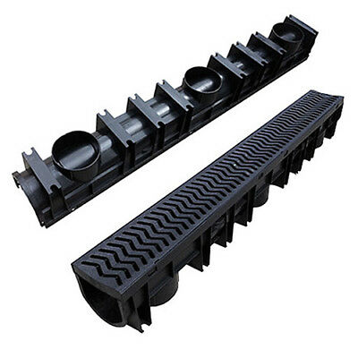 Heavy Duty PVC Fernco Heelguard Channel Storm Drainage Lengths Channel Drain