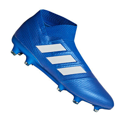 check out 4a282 18b78 Adidas Nemeziz 18 + Fg Blu Bianco