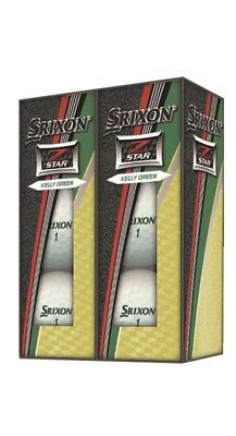 7eb9297e66c 2018 SRIXON Z-STAR Limited Edition Kelly Green NEW 6 pack -  14.99 ...