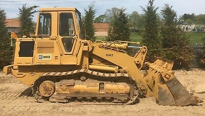 1985 Caterpillar CAT 963 , Crawler Loader / Track Loader with CAT 3304 Engine