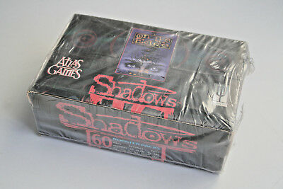 "ON THE EDGE - KOMPLETTES ""SHADOWS"" DISPLAY,  60 BOOSTER, NEU & OVP! Atlas Games"
