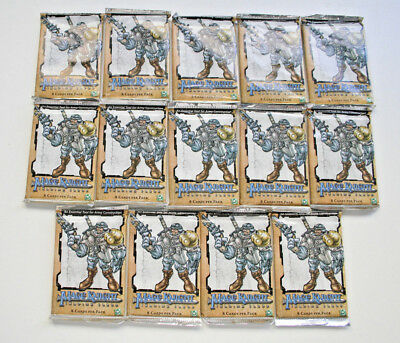 TCG: 14 x MAGE KNIGHT TRADING CARD BOOSTER, WizKids 2001, NEU & OVP!