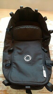 Bugaboo Buffalo | Bassinet / Carrycot + Apron Cover | Black | Pre-owned