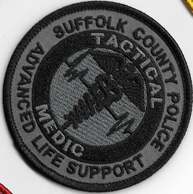 Suffolk County Police Tactical Medic Als Swat Subdued Ems Emt New York Patch
