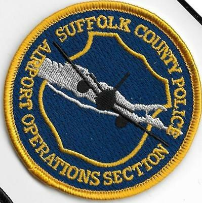 Suffolk County Police Dept Scpd Airport Operations Plane Aviation New York Patch