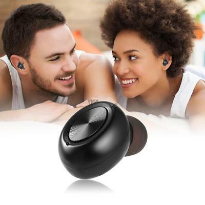 Wireless Headset Mini Invisible Bluetooth Earbud Earphone w/ Magnetic WT88