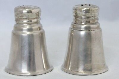 Vintage Sterling Silver Salt & Pepper Shakers - International Sterling S46