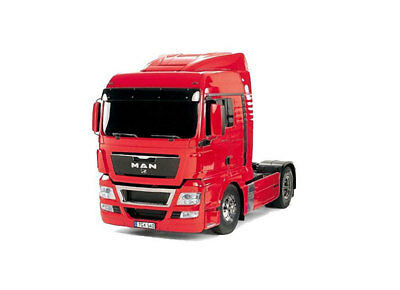 AN TGX, R/C Tractor Truck Kit, Red Edition, 1/14 Scale, 18.540, 4x2, XLX TAM5632