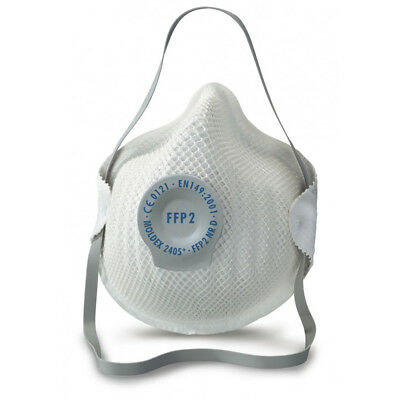 MOLDEX 2405 Classic FFP2 NR D Dusk Respirator Mask with Air Valve by Moldex