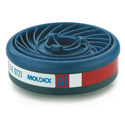 MOLDEX 9100 A1 Organic Easylock Gas Filters for Moldex Series 7000 & 9000 Masks