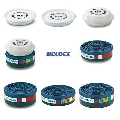 MOLDEX EasyLock Filters for Moldex Series 7000 & 9000 Masks Supplied in Box