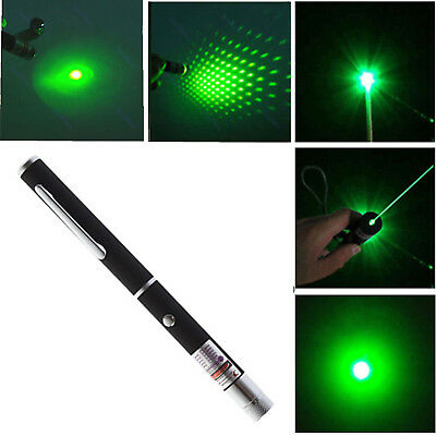 1mw Powerful Green Laser Lazer Pointer Pen High Power Professional 532nm Best