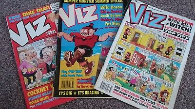 Viz Comic - Issue 70 Issue 72 & Issue 73 (1995) - Not For Sale To Children!