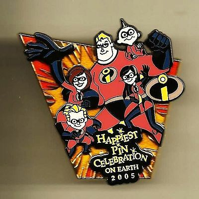 Wdw Le 750 The Incredibles Family 2005 Happiest Celebration Event Disney Pin