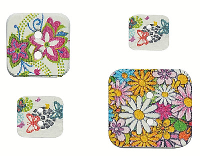 Contemporary Country Fine Style Buttons Choice Of Colours