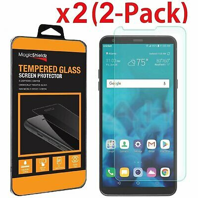 [2-Pack] MagicShieldz® For LG Stylo 4 (2018) Tempered Glass Screen Protector
