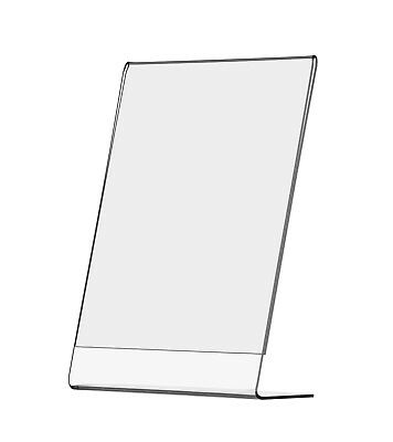 Advertising Table or Countertop Menu Picture Display Frame Stand