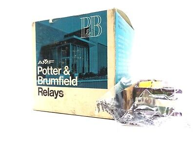 New Potter & Brumfield Spdt 5A. Relay Coil