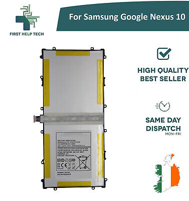 For Samsung Google Nexus 10 - Genuine Replacement Battery 9000mAh SP3496A8H
