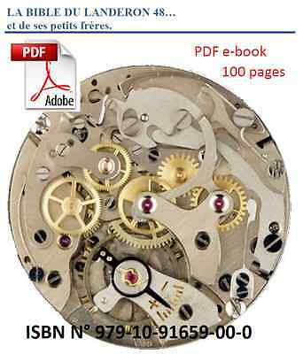 Restoring, fixing, oiling and tuning the Landeron 48. electronic book