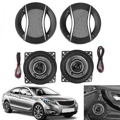 2pcs 4Inch 350W Car Coaxial Treble Horn Speakers Auto Audio Music Loudspeakers