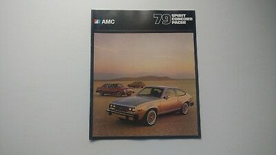 1979 AMC SPIRIT CONCORD PACER Dealer Brochure Excellent!