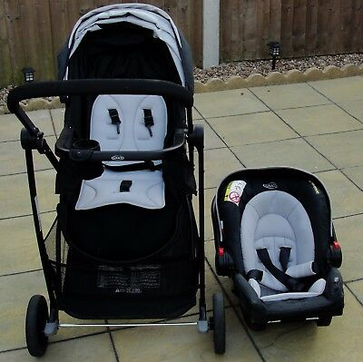 Babe Graco, 3 in 1 Pushchair, Car Seat, carrycot,