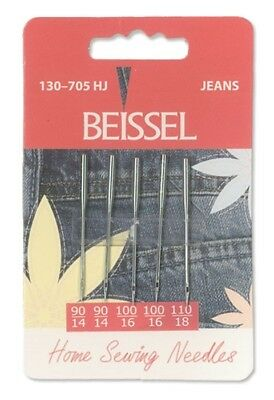 Sewing machine needles - Jeans mixed pack