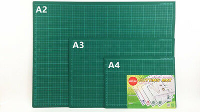 RENO ART Cutting Mat Self Healing Green Art Craft DIY A4 A3 A2