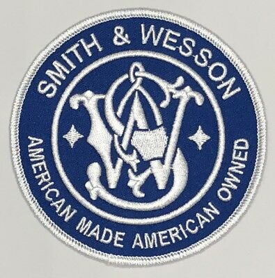 "Smith and Wesson  Patch 4"" Made In The USA."