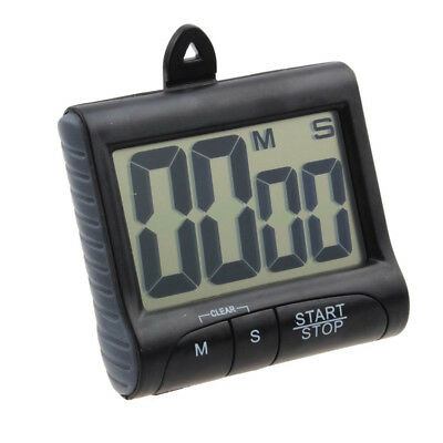 LCD Magnetic Alarm Timer Kitchen For Cooking Count-Down