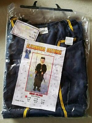 O NEW Child Alexander's Union Soldier Boy Halloween Costume S