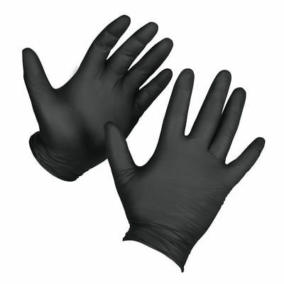 Venom Steel Industrial Nitrile Gloves Large 70% Thicker Powder Free & Latex Free