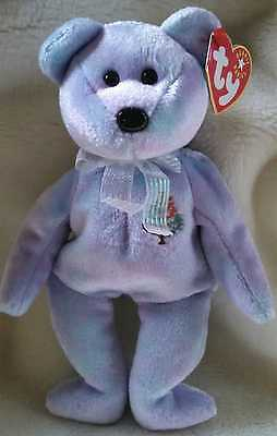 TY Beanie Baby ~ ISSY ISTANBUL Bear ~ NEW with Tags Retired PE Pellets