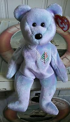 TY Beanie Baby ~ ISSY LOS ANGELES Bear ~ NEW with Tags Retired with PE Pellets