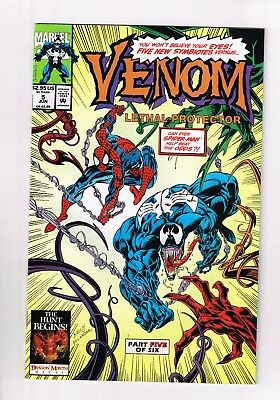 Venom Lethal Protector #5 1993 First Appearance Of Riot Movie Villain Near Mint