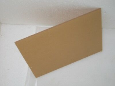 "ACRYLIC PLEXIGLASS SHEET CLEAR 1/4'' x  10"" x 12""  Lot of 2"