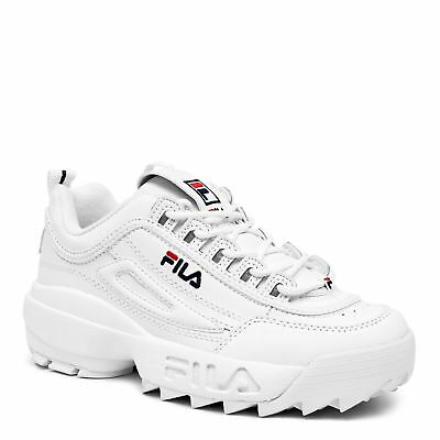 Fila Disruptor II white/peact/vred FW01655-111 sizes 4~7
