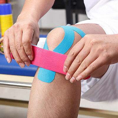 Kinesiology Sports Elastic Tape Muscle Pain Care Therapeutic Tapes Waterproof