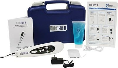 UltraTENS II Portable TENS and Ultrasound Therapy Combo Device
