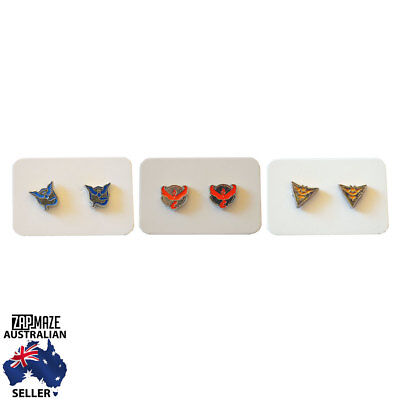 Pokemon Go Teams Team Valor Team Mystic Team Instinct Stud Earrings Pair