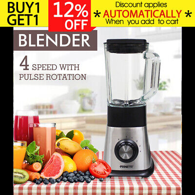 650W 1.5L Juicer Blender Electric Mixer Fruit Vegetable Food Processor Kitchen