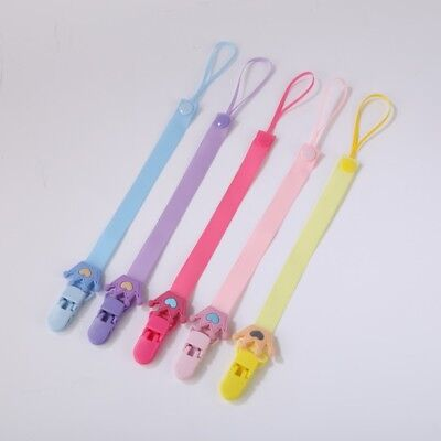 Beautiful Dummy Clip Baby Soother Clips Chain Holder Pacifier Strap Many Styles