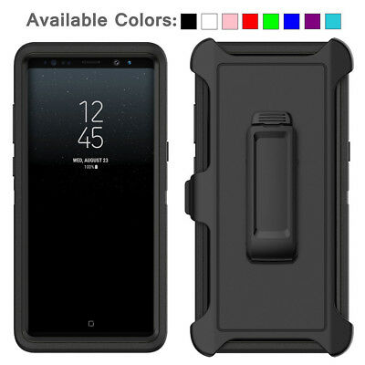 For Galaxy Note 8 Case Cover with Belt Clip Fits Otterbox DEFENDER SERIES