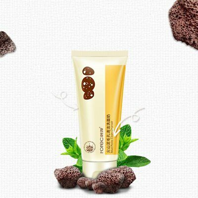Volcanic Mud Pore Cleanser Deep Cleansing Blackhead Removal Facial CleanserUR