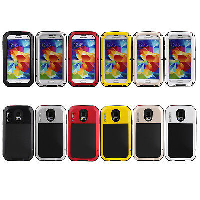 Cell Phone Heavy Duty Shockproof Bumper Metal Cover Case For Samsung Galaxy 5S