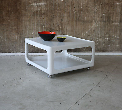 70er HORN COUCHTISCH VINTAGE 70s COFFEE TABLE SPACE AGE 60er 60s