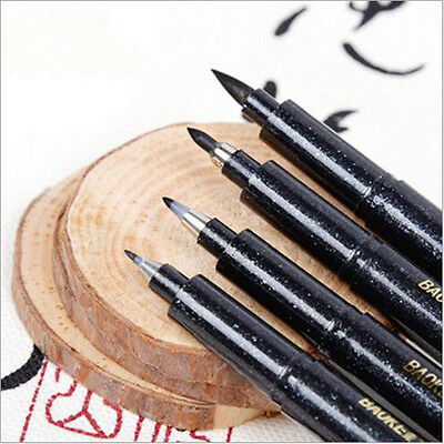 4 PCS/Set Soft Brush Pen Books Calligraphy Wedding Sign Markers Supplies New