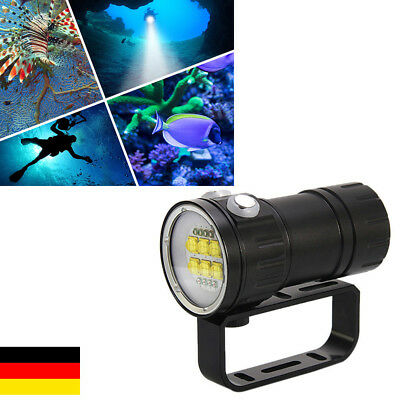 28800LM 14X L2 LED Diving Fotografie Video Rot Blau Weiß Licht Tauche Tauchlampe